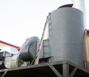 印刷油墨废气环保设备,活性炭有机废气净化器