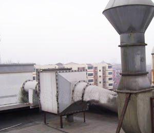 天津三五二二工厂,铬酸雾排风净化工程,铬酸雾净化回收器