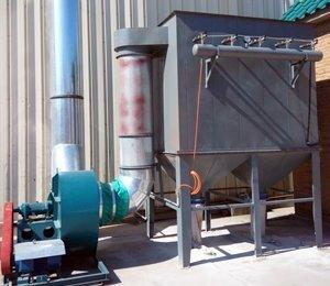 烟尘除尘设备工程,脉冲布袋除尘器工程