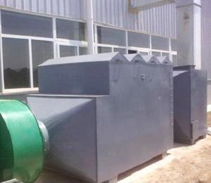 天津市百利溢通电泵有限公司,浸漆有机废气净化工程,喷漆有机废气处理设备,干式漆雾过滤器