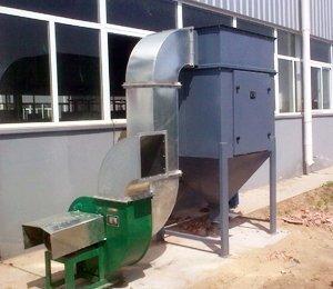 天津市百利溢通电泵有限公司,泵体打磨粉尘净化工程,脉冲滤筒式除尘器