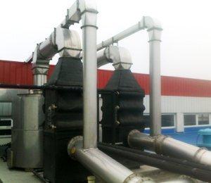 天津大港大加化工有限公司,活性炭有机废气净化工程,活性炭有机废气净化器
