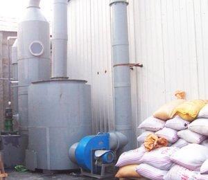 廊坊东江有色金属熔炼有限公司,SDG吸附剂酸废气净化工程,酸雾吸收器