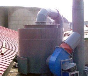 中国环境保护部标准样品研究所,实验室多种废气净化工程,实验室废气净化设备,SDG吸附剂酸废气净化器
