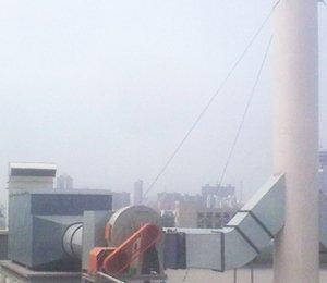 京瓷(天津)太阳能有限公司,碳纤维有机废气排风净化工程,碳纤维有机废气净化器