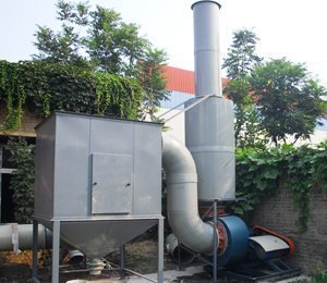 中国冶金地址总局第一地质勘查院,样品测试除尘净化工程,高效滤筒除尘器