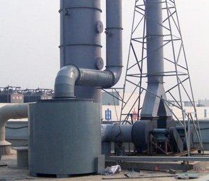 河北保定英利绿色能源控股有限公司,SDG吸附剂酸废气净化工程,干式酸废气净化器
