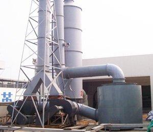 玻璃钢,不锈钢,PP(聚丙),PVC(聚氯乙烯),废气净化设备