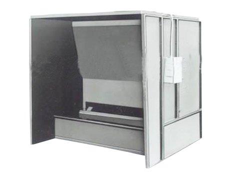 TM型无泵水帘喷漆室漆雾净化器,漆雾处理机,有机废气净化设备