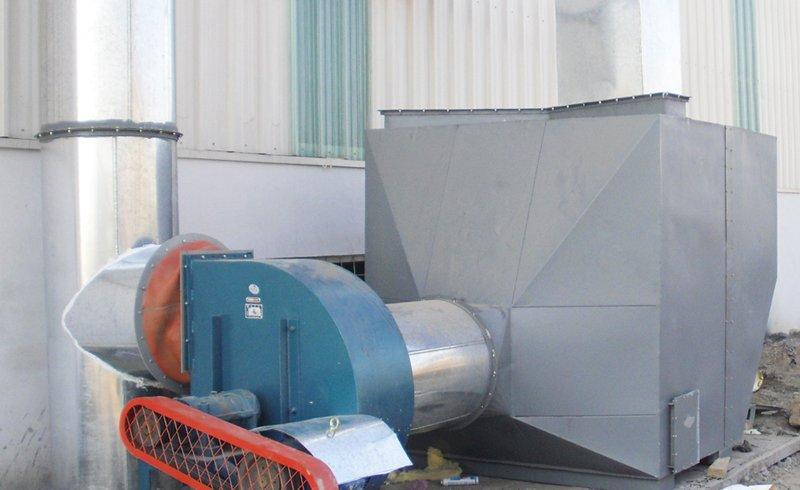印刷油墨活性炭废气处理设备工程